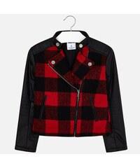 7c364c642f64 Dievčenský kabát prechodný MAYORAL 7458-032 Red