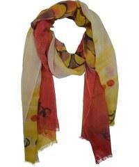 Ručně malovaný dámský šátek meditace b284a15967