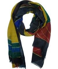 Ručně malovaný dámský šátek podzimní vzor 7d8154d8eb