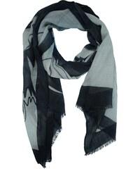 Ručně malovaný dámský šátek s motivem květin 961a3bf305