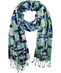 Dámský šátek vzorovaný b7b0047396