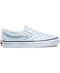 Vans Classic Slip-On (Checkerboard) Baby Blue True White 4da63e909d
