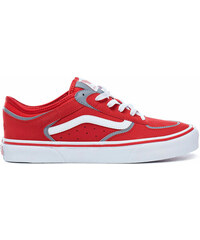 Vans Rowley Classic LX Racing Red White 298a6e40a4