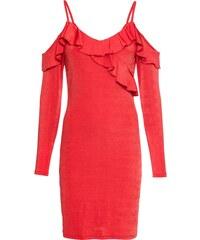 bonprix Žerzejové šaty s odhalenými rameny bf1dcf87566