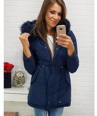 bf628e423a Tmavo modré Dámske bundy a kabáty z obchodu Dg-shop.sk - Glami.sk