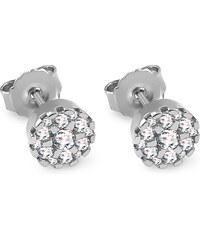 iZlato Design Diamantové náušnice z bieleho zlata 0.090 ct Nerys ... 129ca70a3e3