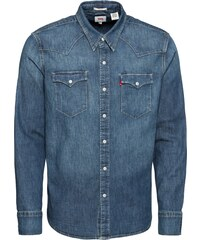 f0bb33e15d0 LEVI S Košile  Barstow Western  modrá džínovina