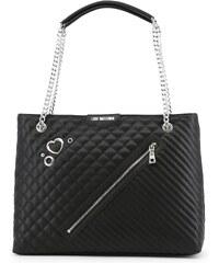 LOVE MOSCHINO Dámská velká kabelka typu Shopper Love Moschino Černá de281a55d8a