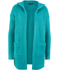 189dd99df4fb Bonprix Pletený sveter s kapucňou