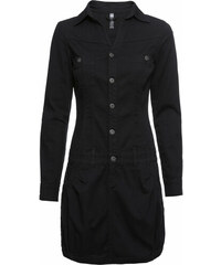 813831dd72b8 Čierne Šaty s dlhým rukávom