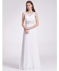 Ever Pretty Plesové šaty společenské bílé 8741 6ec9ec79762