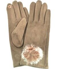 f788b8765 Tommy Hilfiger dámské béžové rukavice Sparkle - Glami.cz