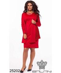 Červené Šaty z obchodu LaraRuby.sk  1014cb7162c