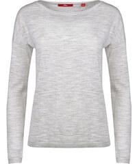 Oliver Dámský šedý svetr s dlouhým rukávem 9c22f9c2b7
