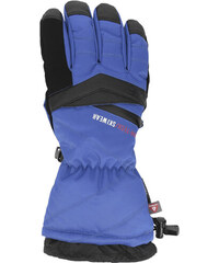 4F Pánské lyžařské rukavice REM150 – kobaltové 5de72b4d22