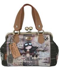 ANEKKE AVIATOR kabelka s vintage zapínáním do ruky 27851-09 ca4944e48d9