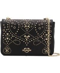 Love Moschino studded crossbody bag - Black 9b43f028d5e
