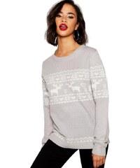 75fcbcd8b971 BOOHOO Vianočne ladený sveter