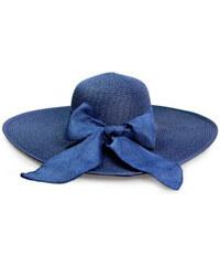 d38d9e555d4 Dámský klobouk Miranda modrý s tečkami - Glami.cz