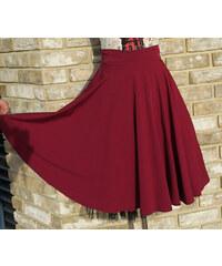 Dámská sukně Gotta Dance vínová d36bb5b6c8