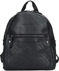 d0abe5cb582 Moderní ekokožený dámský batoh Enrico Benetti Alena - černá