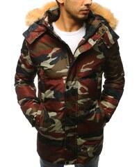 Brand Pánska zimná bunda s kapucňou (tx2532) - maskáčová tx2532 ee15551a94a