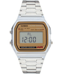 Casio - A158WEA-9EF - Montre digitale classique style rétro - Argenté