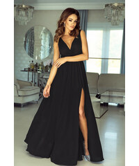 EMO Tmavosivé šaty Anabell 9caab11def9