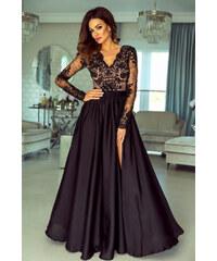 275902d9c83 EMO Čierno-béžové šaty Luna
