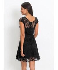 59011d62216 bonprix Žerzejové šaty s krajkou