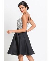 1fca0834ea6 Plesové šaty s uzkými ramínky