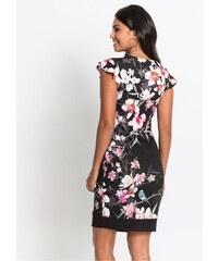 d1bf3d6fd043 bonprix Žerzejové šaty s květinovým potiskem