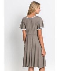 Hnědé letní šaty - Glami.cz 4af8ca65ce