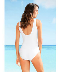 Bílé letní jednodílné plavky - Glami.cz dbf813d299