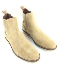 Pánské boty Firetrap Francis Chelsea Béžové 13696315e2a
