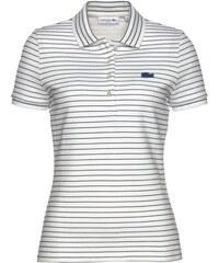 LACOSTE Tričko námořnická modř   bílá 27a680fd4ed
