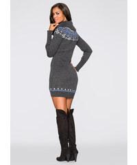 bonprix Pletené šaty dfd56393b6