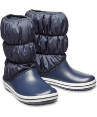 a136a2086e8 Crocs modré sněhule Winter Puff Boot Navy - W6