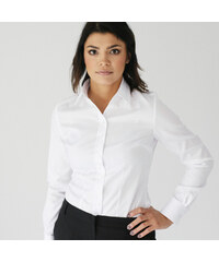 0e9ac13fcaf Dámská košile Willsoor 809 v bílé barvě
