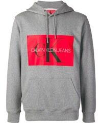Calvin Klein Jeans hooded sweatshirt - Grey 9083dfa94d