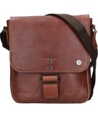 d19b14ba912 Pánská kožená taška 2JUS Stone 3 - hnědá