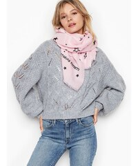 Victoria s Secret Victoria s Secret růžový šátek Winter Angel Scarf a49f355ee8