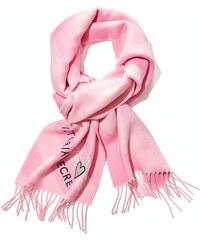 00490e7bd0e Victoria s Secret růžová šála Winter Angel Buffalo Check Scarf
