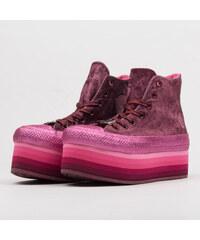 Converse Chuck Taylor AS Platform HI Miley Cyrus dark burgundy   pink 56c45dbd1a