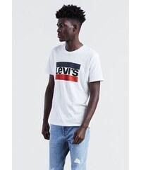 08e2aa7c2a75 Pánske biele tričko s krátkym rukávom Levi´s Sportswear Logo Graphic