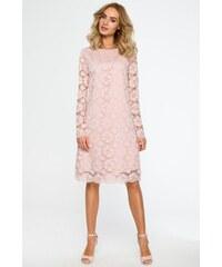 2ffe287c6ca7 Ružové šaty Moe 406