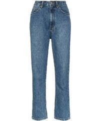 V klučičím střihu dámské džíny s vysokým pasem - Glami.cz eef7f9c260