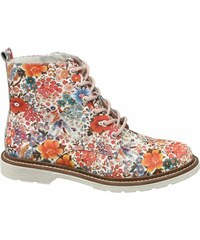 504c75dc818 Květované dámské kozačky a kotníkové boty