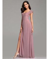 4b896a182a20 Dámské úžasné růžové šaty Ever Pretty 7737