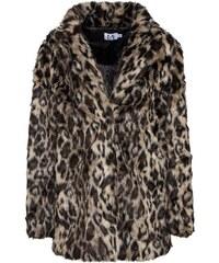 6c7713835b19 NA-KD Zimná bunda  leo jacket  Hnedé